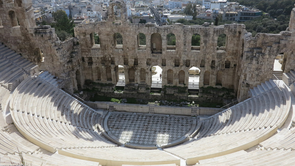 Spectacular Herod Atticus theatre, not to be missed on your summer and early autumn visit!