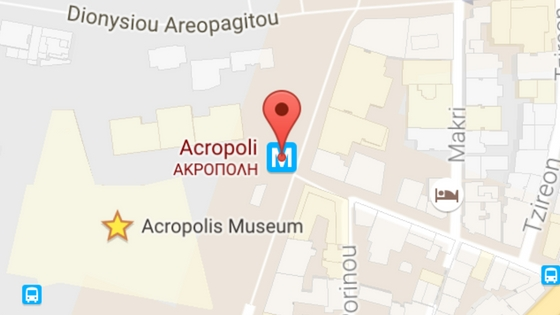 Google Maps works great in Athens