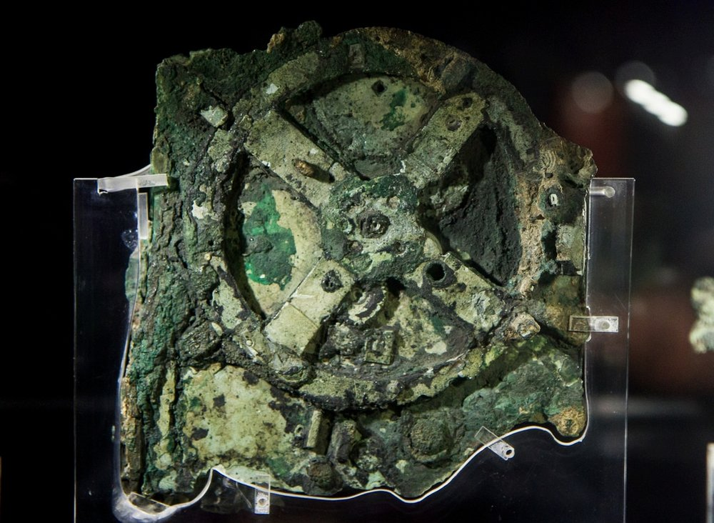 The mysterious Antikythera Mechanism (Photo via Flickr)