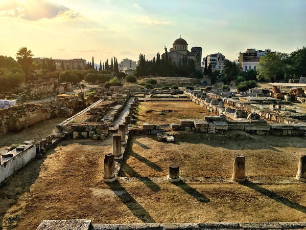 The cemetery of Kerameikos (Picture by joykittyness/Instagram)