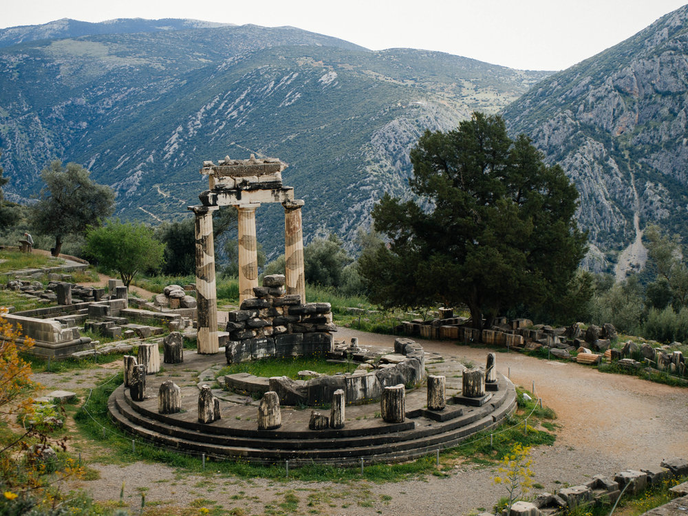 Magical Delphi! (Photo by Katherine Poseidon)