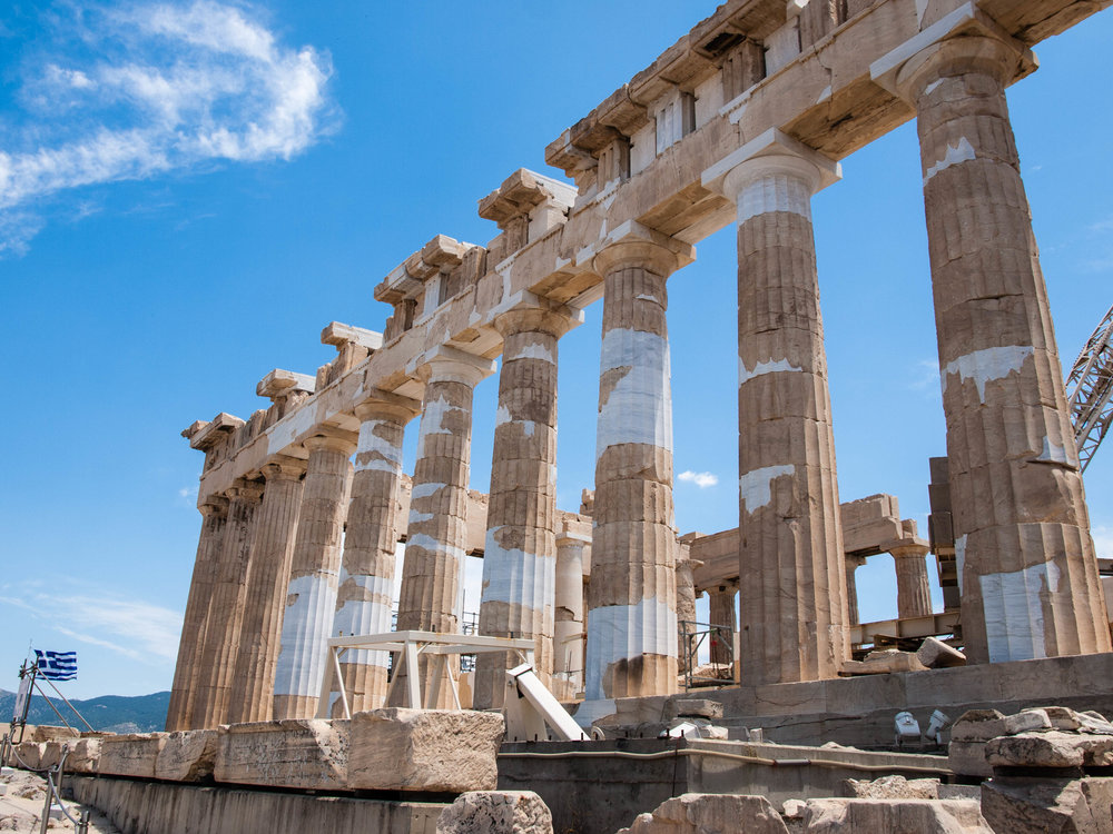 The Acropolis of Athens is the ultimate Greek landmark and one of the best things to do on your visit to Greece.