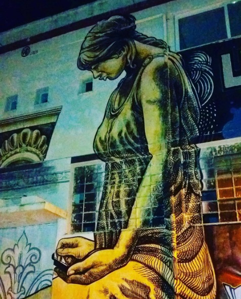 Athens' street art scene is one of the best in Europe! (Picture @christinahexy / Instagram)