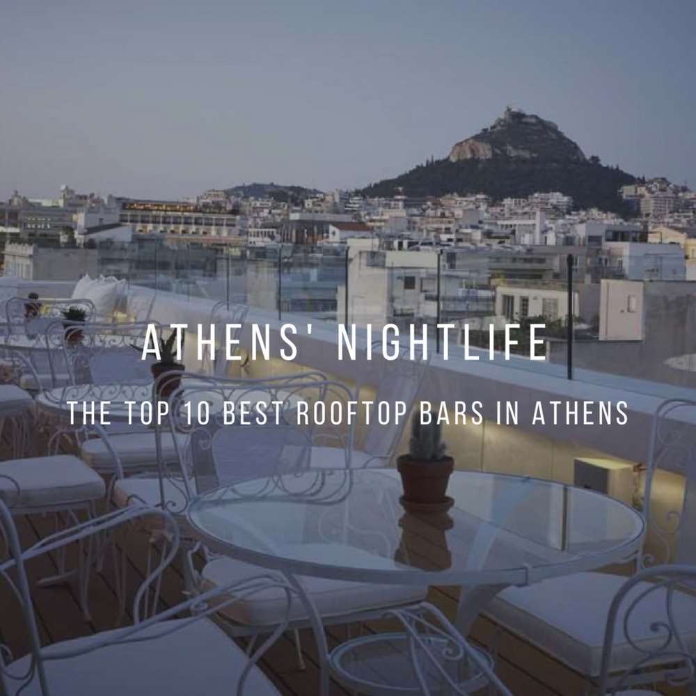 rooftop bars athens