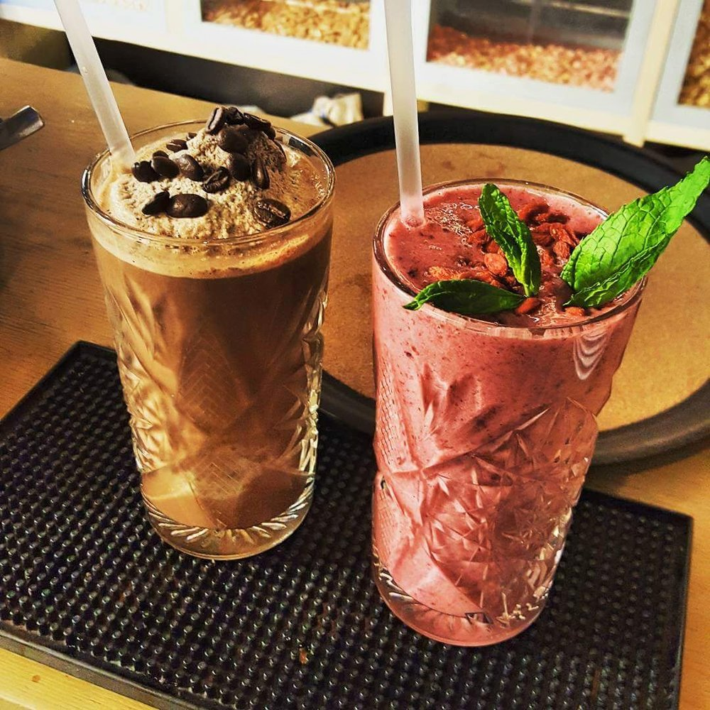 Mocca Protein & Berries Smoothie at Fontana (Photo credit:  @fontana-living-well-store / Facebook )