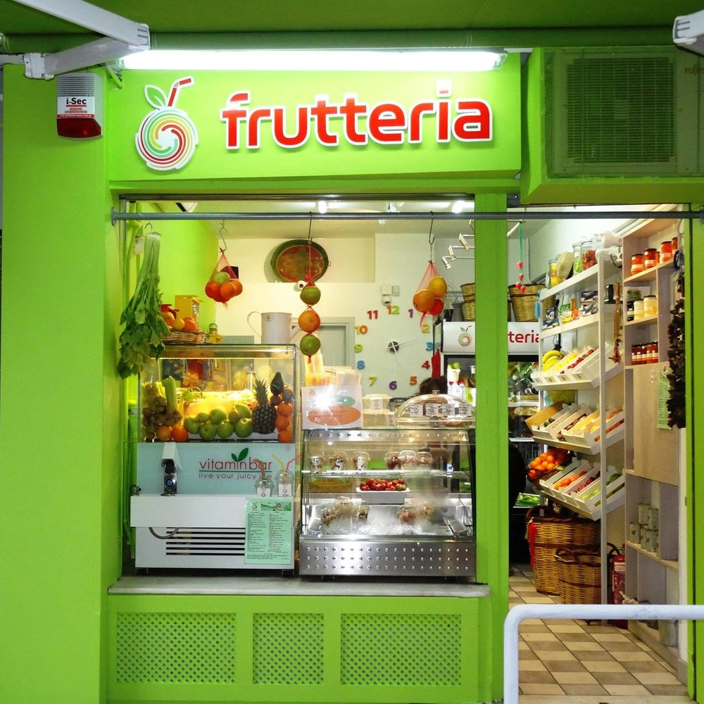 Frutteria is your fruit juice bar in Plaka (Photo credit:  @frutteria.gr / Facebook )