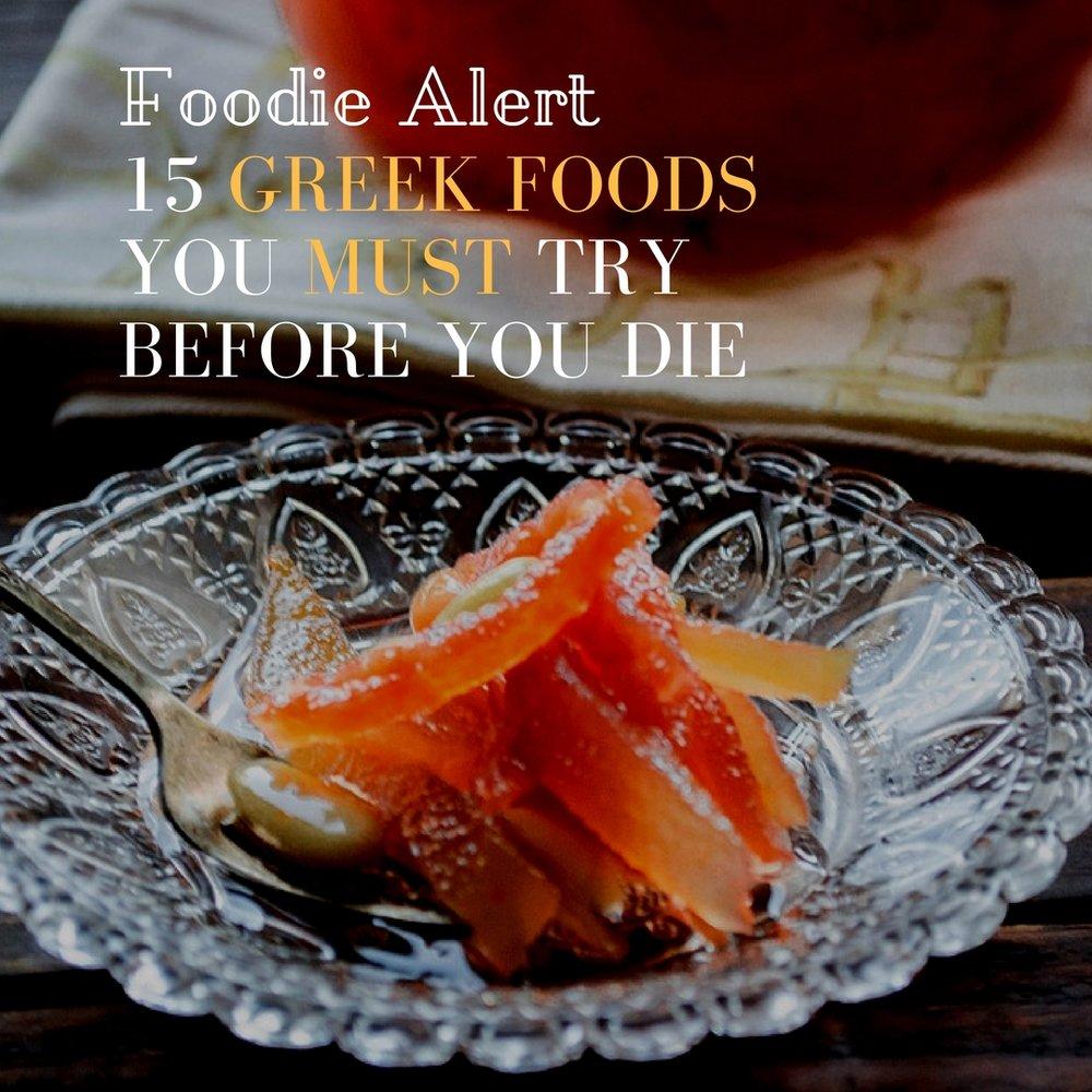 Greek food to try before you die