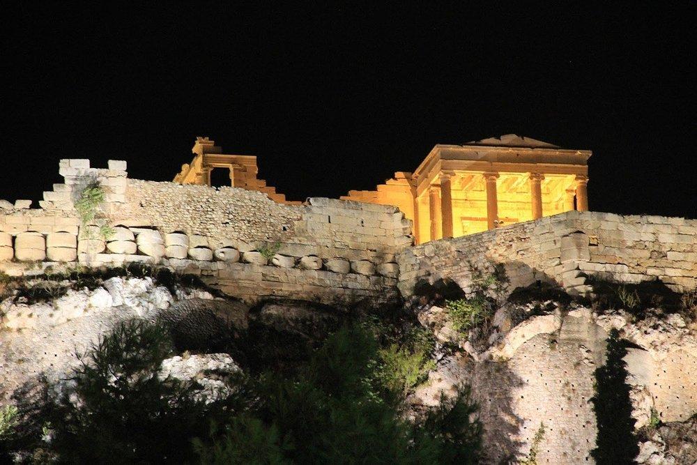 Acropolis At Night Tour