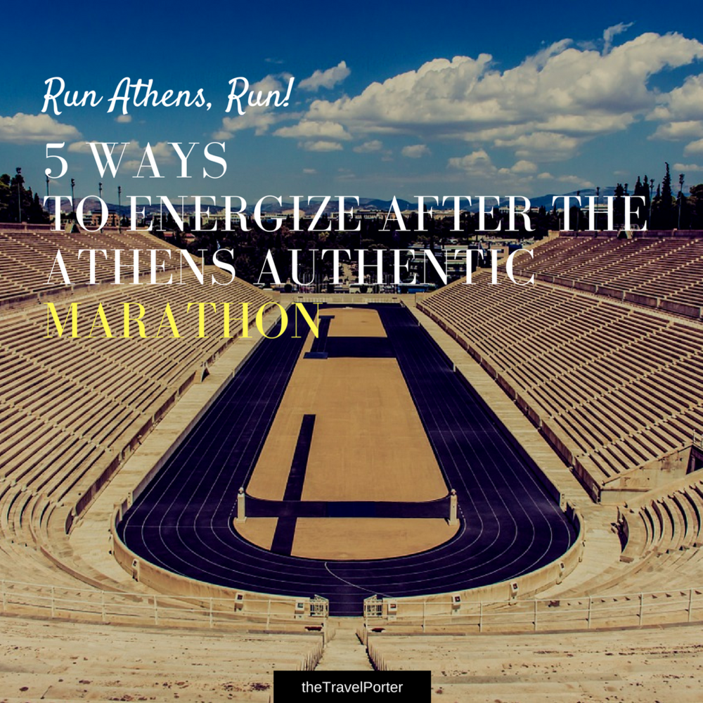 Running the Athens Marathon? -
