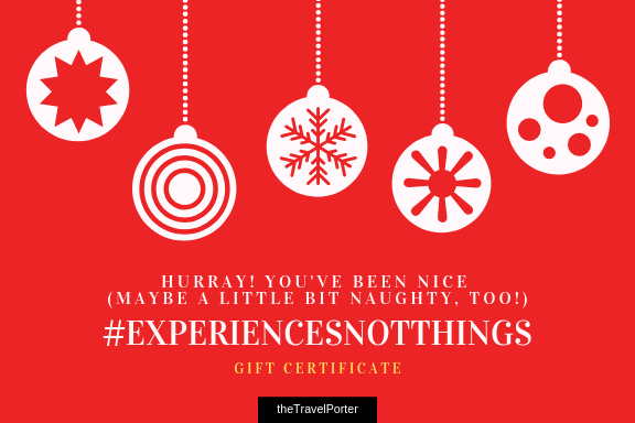 Last minute Christmas shopping - Get theTravelPorter gift card!