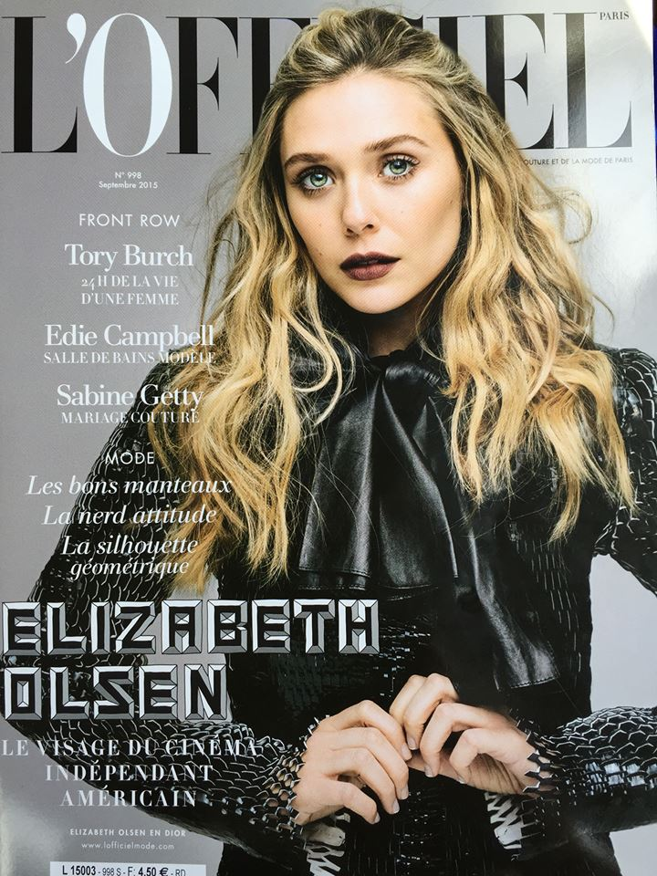 L'Officiel de la Mode (France), September 2015