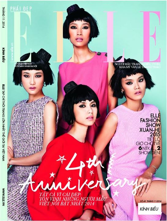 ELLE (VietNam), October 2014