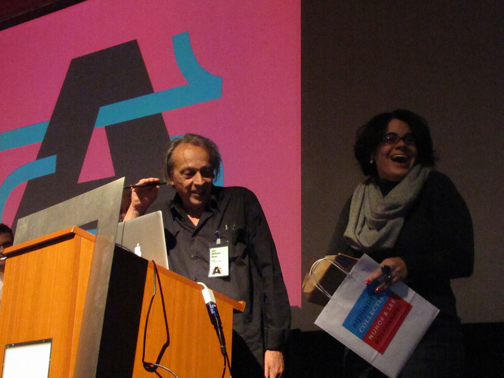 Photo by Henrique Nardi – Closing ceremony of AtypI Amsterdam 2013