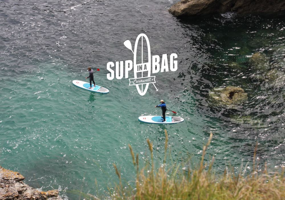 SUP at St Agnes SUP in a Bag Rental Logo
