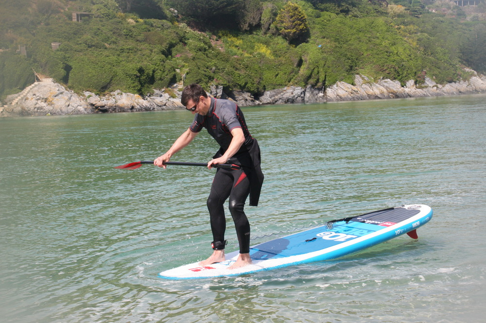 Just a little further - Crantock SUP Lessons Hire & Tours
