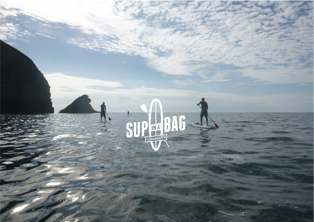 SUP Tour Porthtowan to Portreath