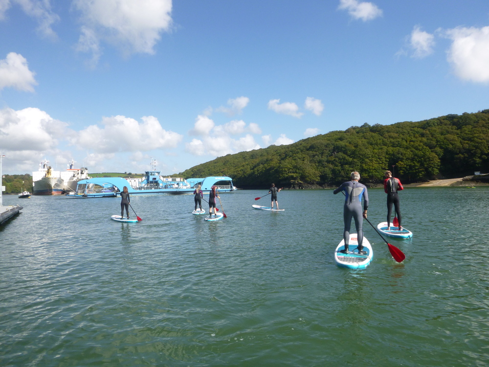 Group SUP Tours