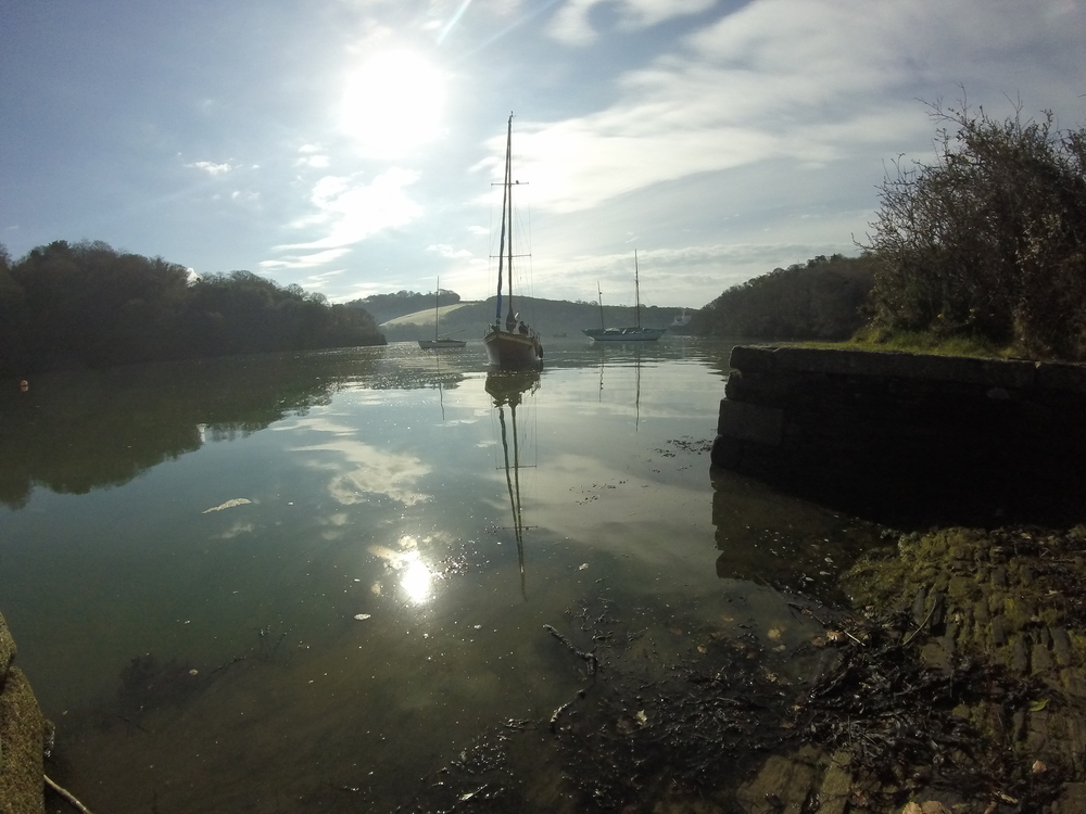 Dreamy morning on the River Fal