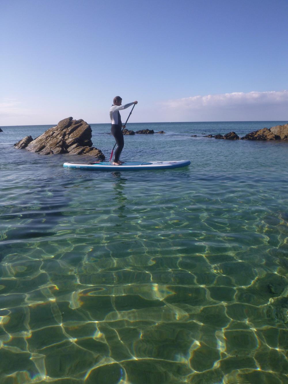 Stunning SUP Newquay Cornwall