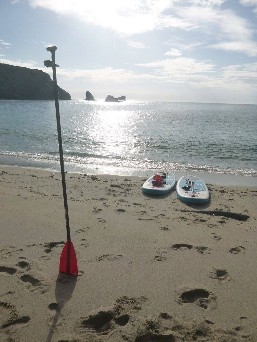 Portreath Cornwall SUP lesson