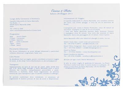 Petite Fairytale Information Card