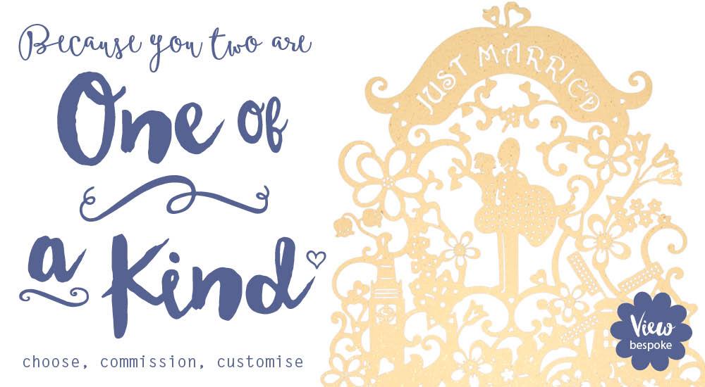 View bespoke laser cut wedding invitations by Chartula.