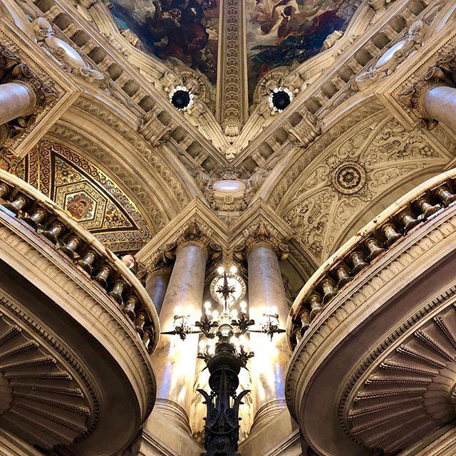 Opera Garnier,  Paris 75009 Thursday 6th Mars, 1:27pm