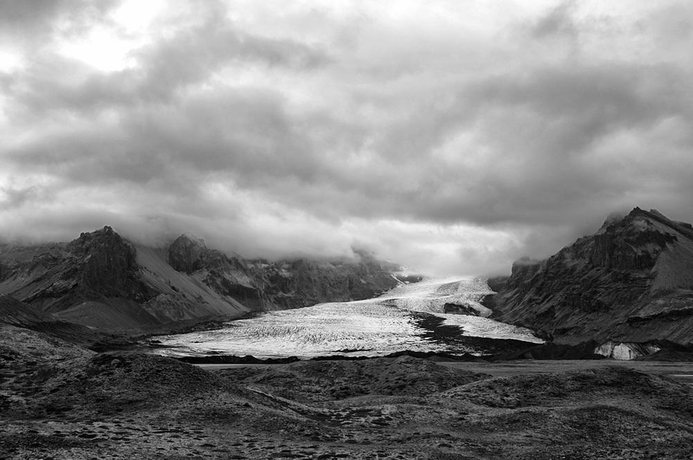 MYRDALSJÖKULL GLACIER, ICELAND