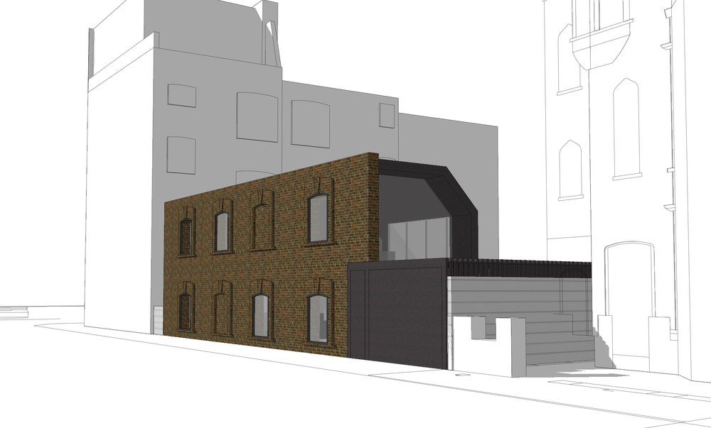 FULHAM ROAD SW6 - OPTION 1
