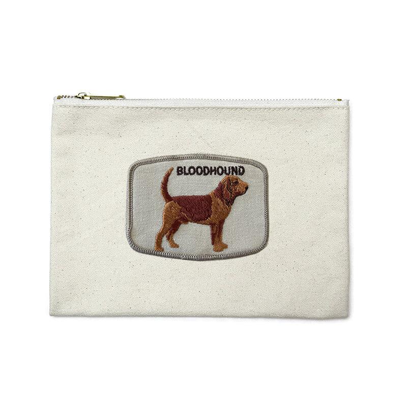 Bloodhound Zipper Pouch
