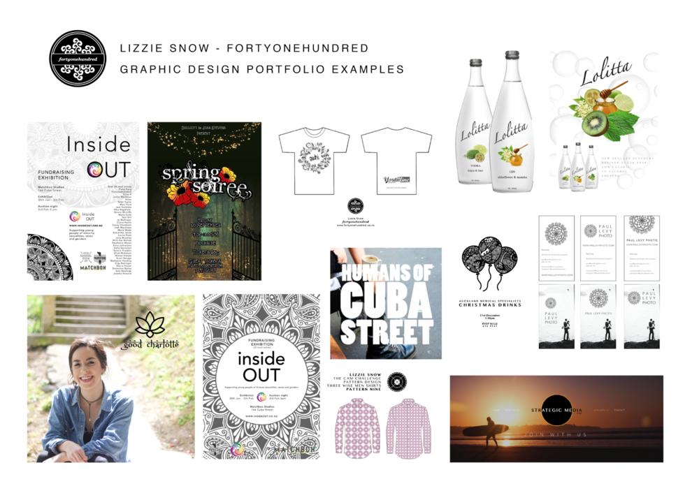 Lizzie Snow Fortyonehundred Graphic Designer Artist Photographer New Zealand