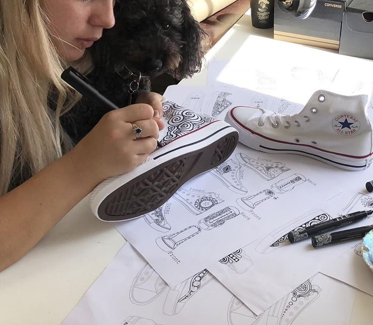 fortyonehundred Lizzie Snow - CONVERSE COLLAB.jpg