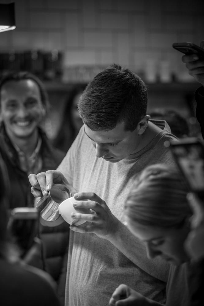 Josh Belleville , King Free Pour Image: Shay Fraser