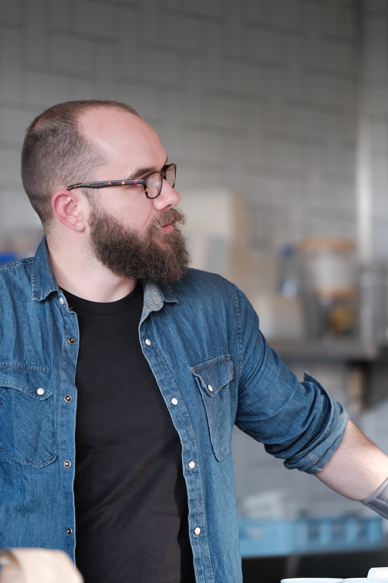 Michael Allen, Small Batch Roasting Co.  Image: Shay Fraser