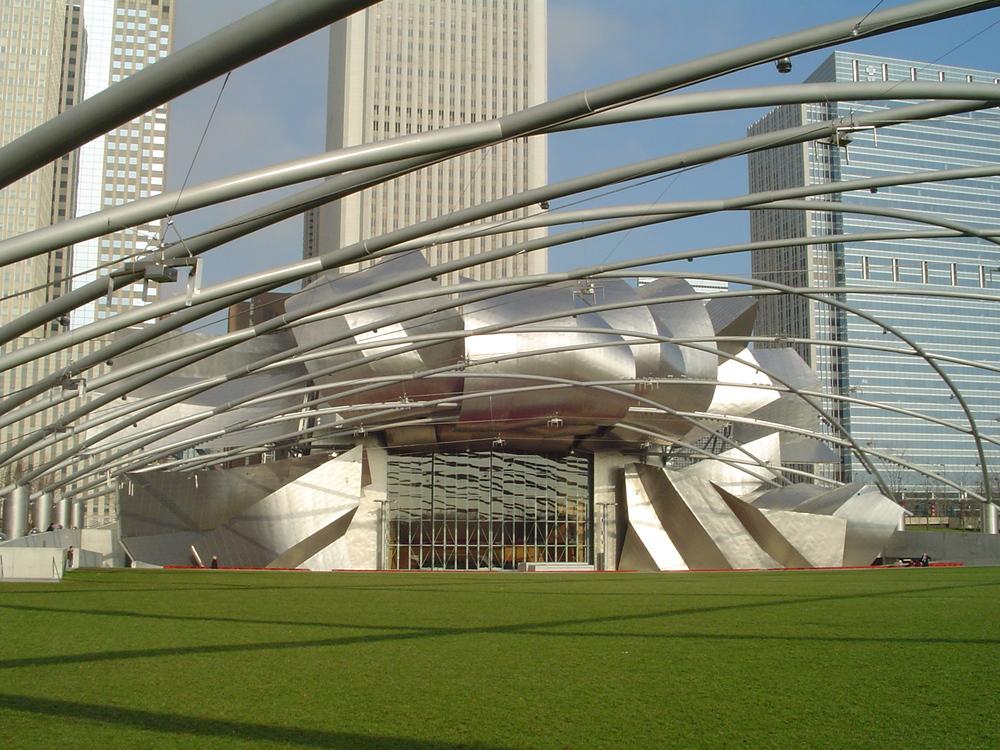 Millennium Park Chicago - Gehrys Jay Pritzker Pavilion
