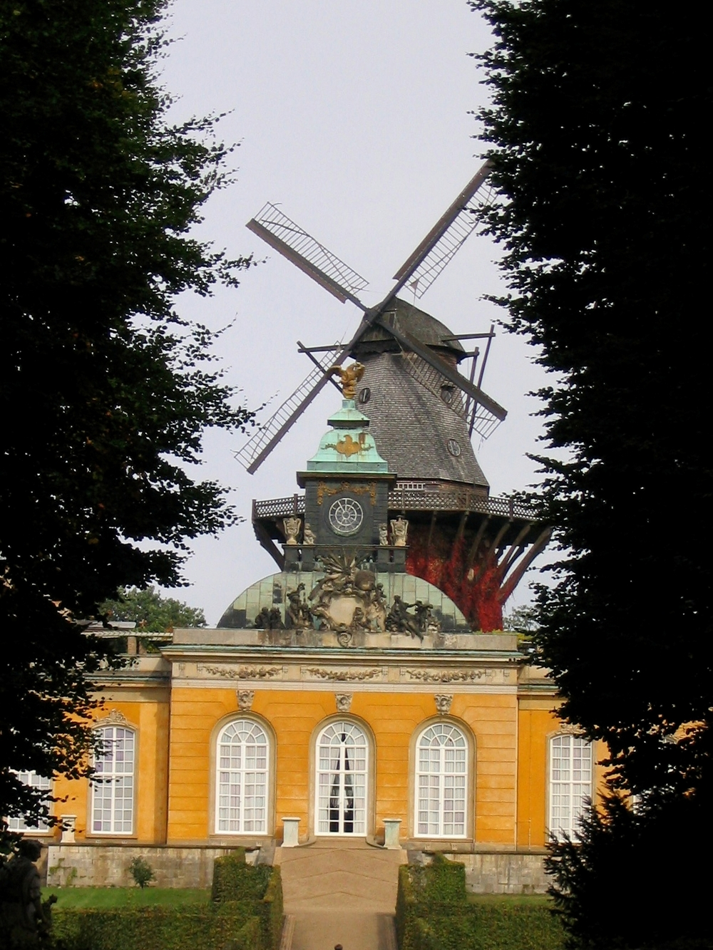 Sanssouci Castle Potsdam, Germany