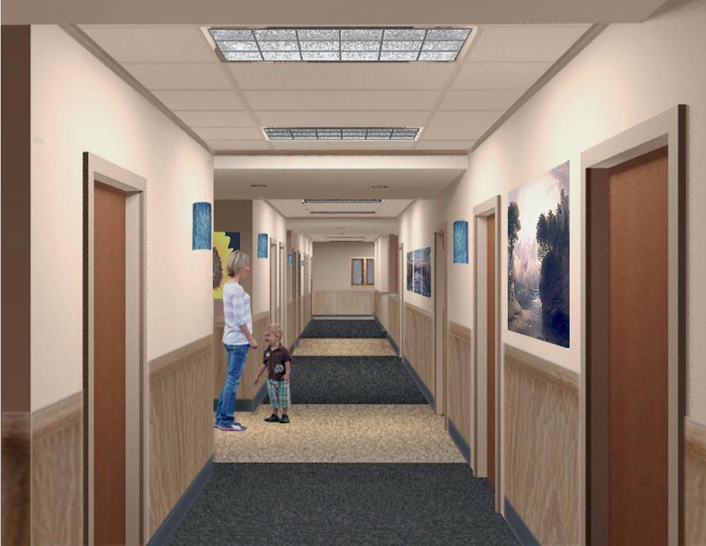 Shared Suite Hallway