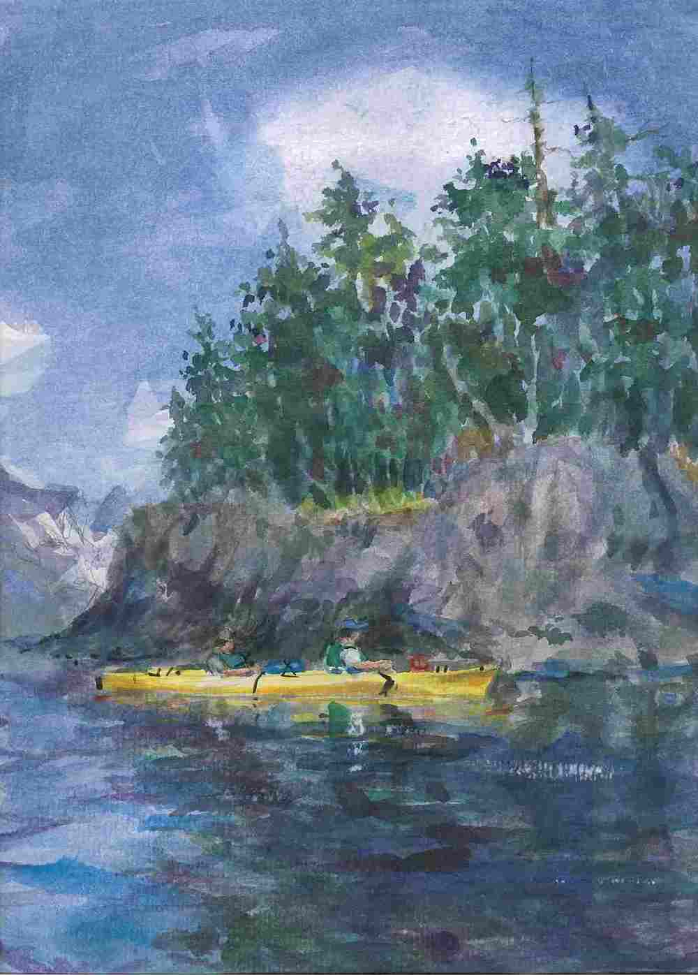 Alaska Kayakers