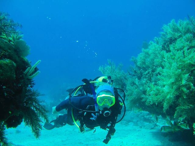 Another day well spent exploring the Belize Barrier Reef!