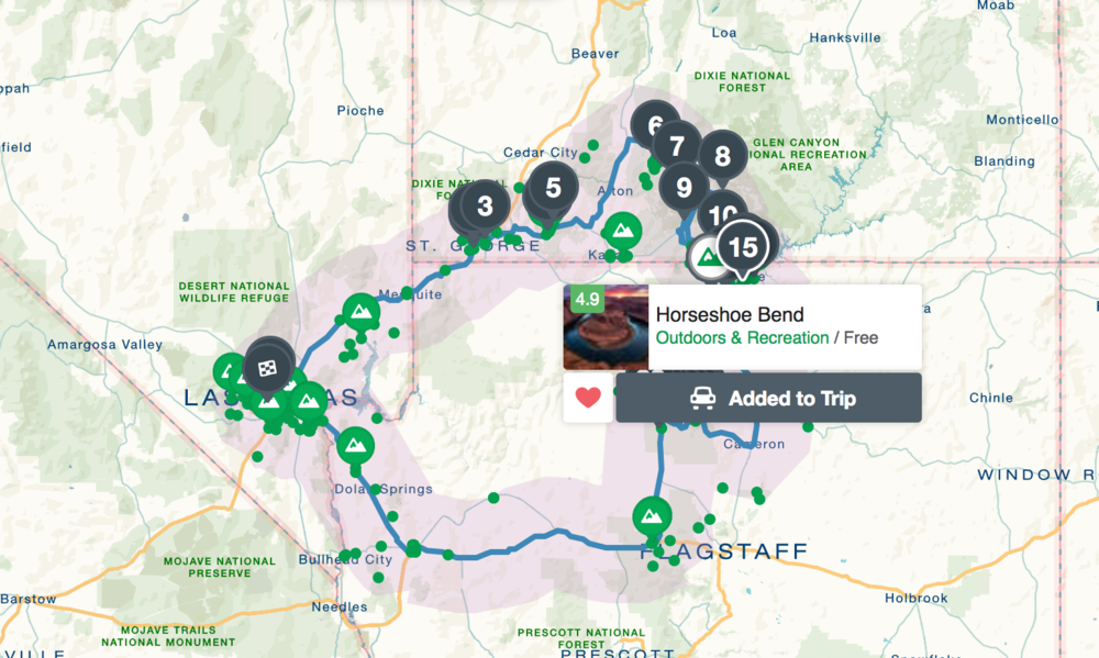 BTW, check out roadtrippers.com - it's an awesome and free travel planning app!