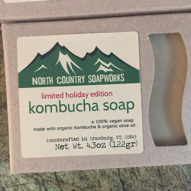 Some very special people are going to find some awesome stocking stuffers! #specialedition #kombuchasoap #holidaysoap #christmassoap #happyholidays