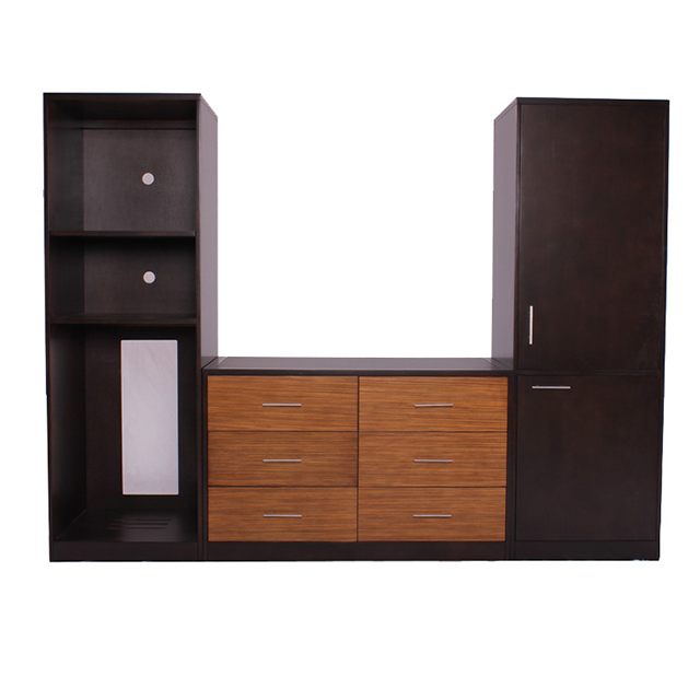 Dresser - Wardrobe unit with zebrano veneer on drawer front,CG-0137-VT,  FUR 103(1) HBT, (24+48+24)%22*23%22*(72+30+72)%22H.png