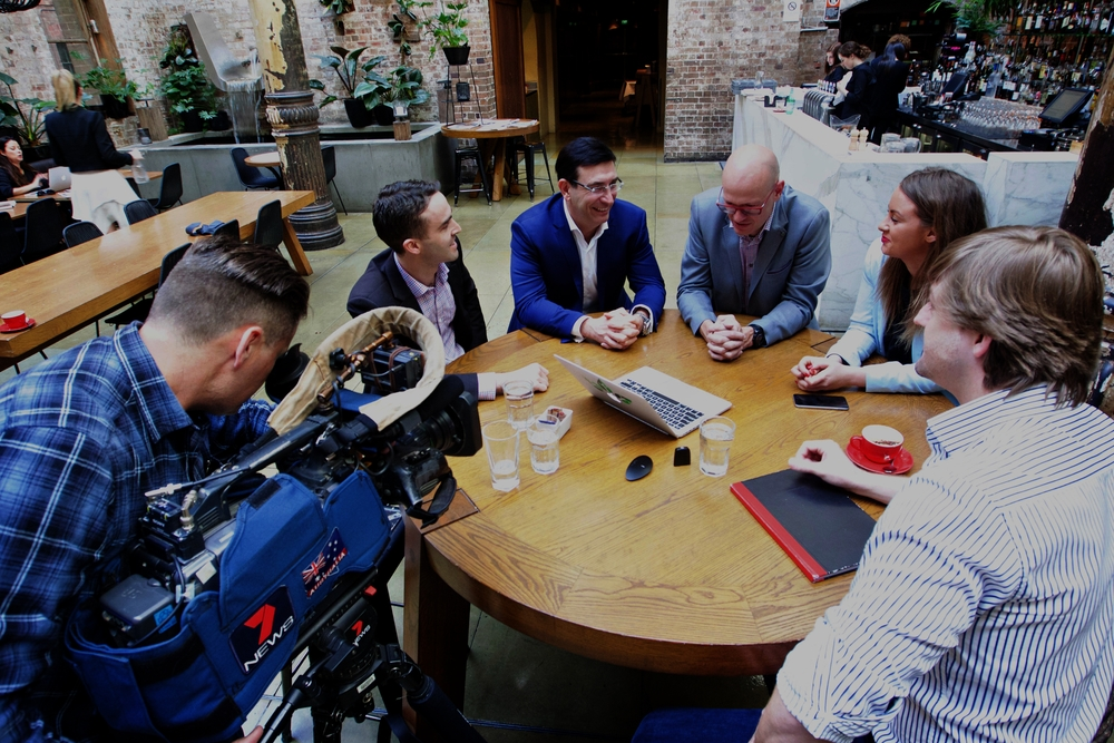 UNSTOPPABLES  An Australian visit by 'Silicon Valley Royalty', Adeo Ressi, was used to raise the awareness of entrepreneurial group, Unstoppables, with top tier media, including Channel 7 News.