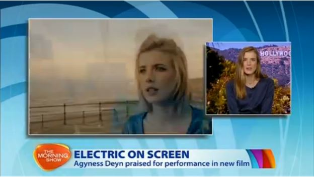 Her blonde pixie hairstyle catapulted her into the modelling world. At the peak of her modeling career she shifted her focus from fashion to film - a move that's proved to be 'electrifying'.    [note: Top UK Model, Agyness Deyn, has delivered a critically acclaimed performance as a woman living with epilepsy in her debut film,  Electricity,  which is exclusive to the cinema on demand platform, Tugg.com.au. Electricity is a film epilepsy authorities believe will have a dramatic effect on the way the condition is perceived.]
