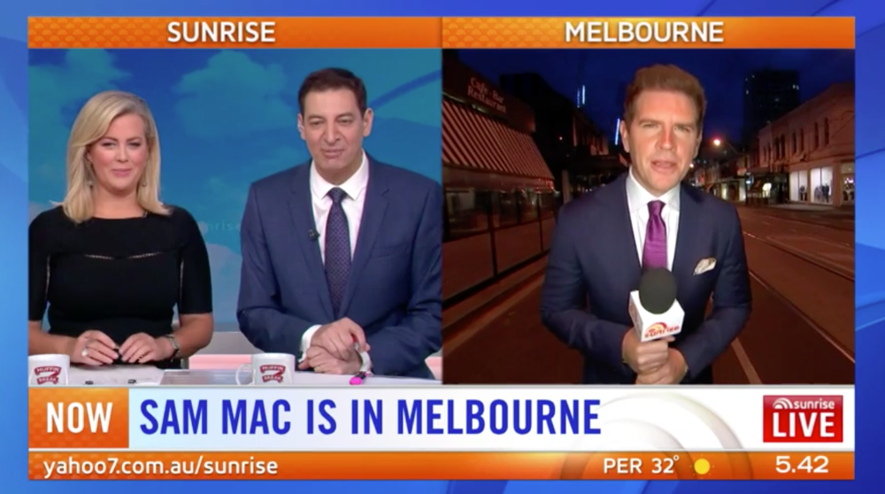 Sam Mac reports live from Chapel Street, Melbourne, ahead of the races that stops the nation.