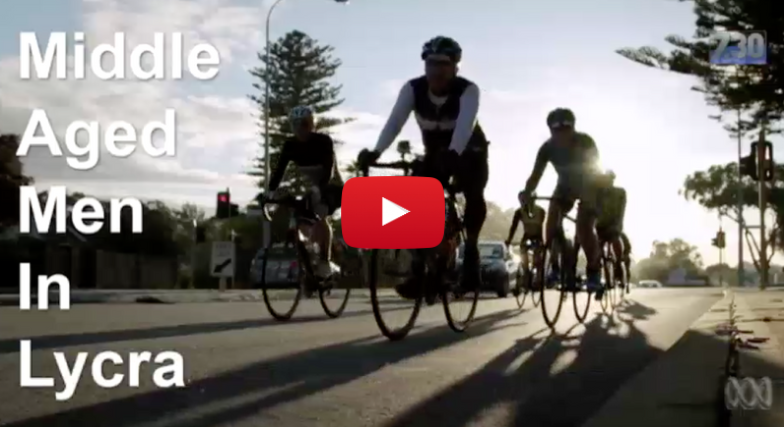 On weekends right across Australia you might spot a group of lycra-clad men speeding around on their bicycles – they're called MAMILs, Middle Aged Men in Lycra. A new Australian documentary explores the world of the MAMIL.