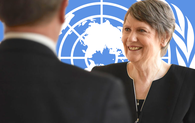 "Two years after losing the race for secretary-general, the former New Zealand prime minister says the UN needs an ""injection of sheer political reality."""