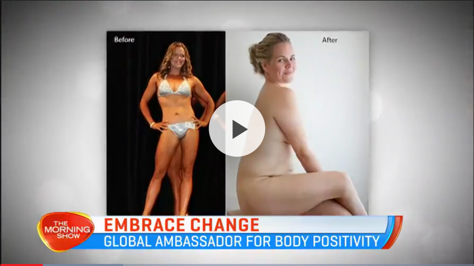 Taryn Brumfitt was unhappy with her body after having kids, but now she's embracing a more positive body image. Find out more about her 'Embrace You 4-Week Challenge'  here .