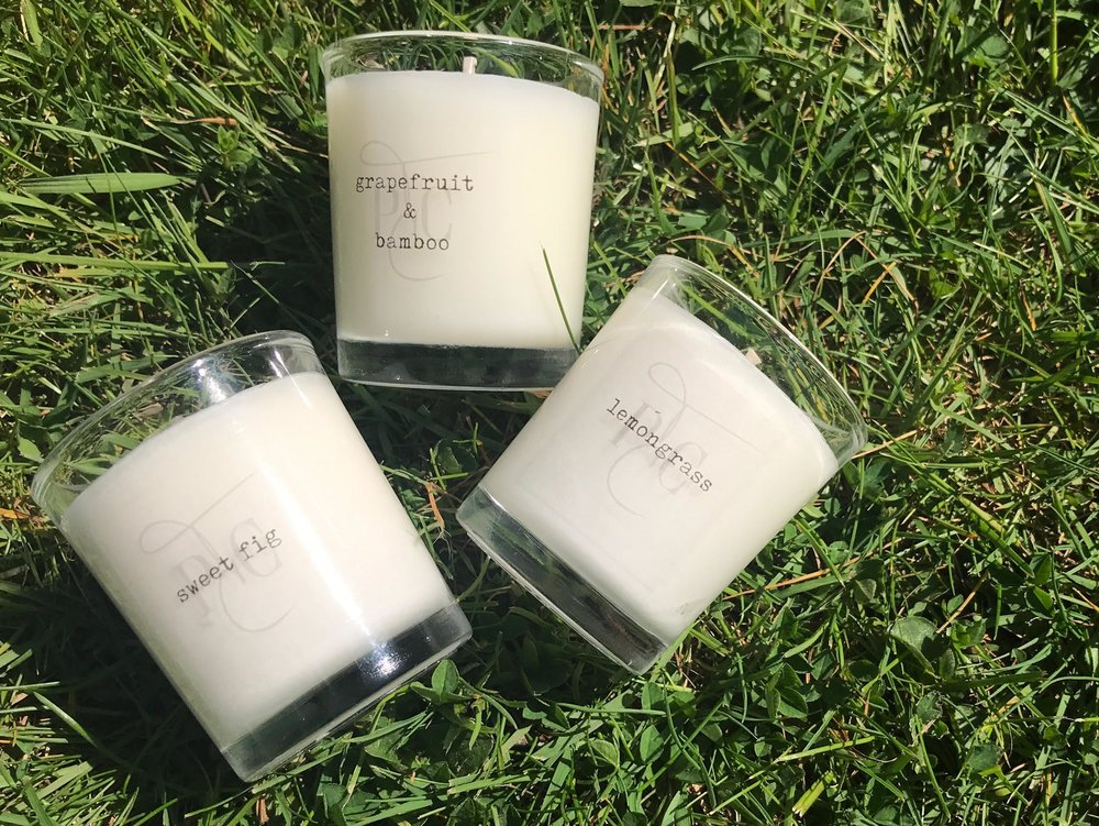 Hand-Poured  SoyWax Candles - Inspired by nature.Hand crafted in our Northumberland studio.