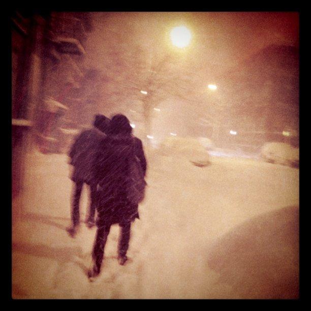 Amazing snow (Taken with  instagram )